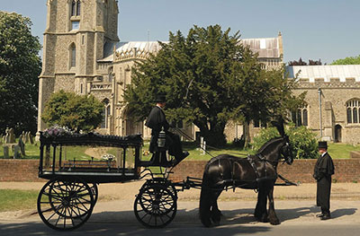 funeral transportation in Suffolk and Norfolk